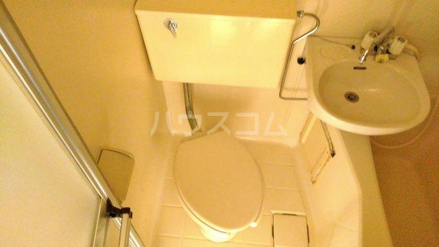 ベラ栗平 202号室のトイレ