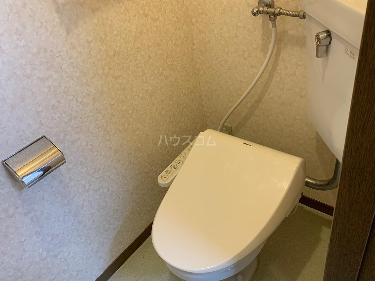 カトレアハイツ 2-C号室のトイレ