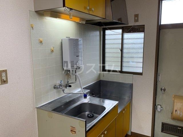 カトレアハイツ 2-C号室のキッチン
