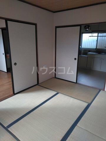 柿生サンハイツ 203号室の居室