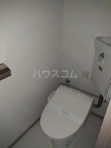 柿生サンハイツ 203号室のトイレ