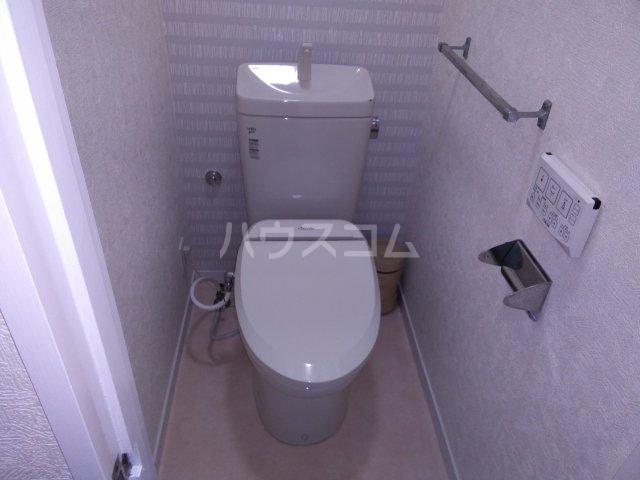サンタナハイツ 202号室のトイレ