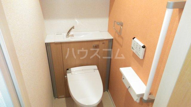 メゾン・ド・ラペ 01020号室のトイレ