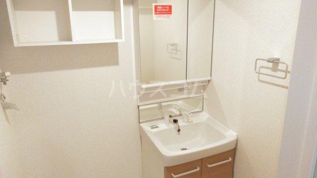 メゾン・ド・ラペ 01020号室の洗面所