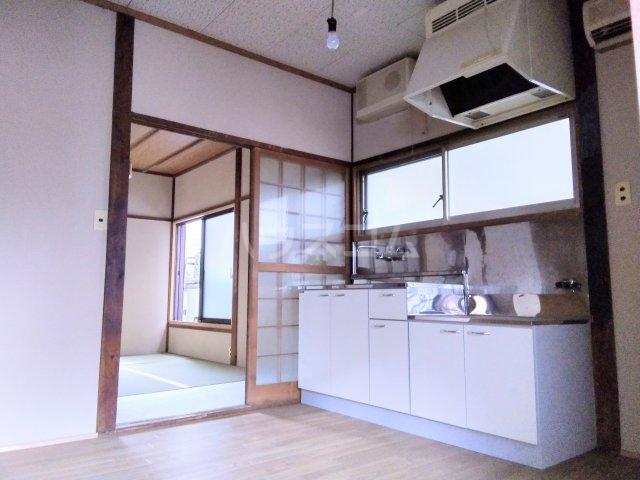 佐々木アパート 101号室のキッチン