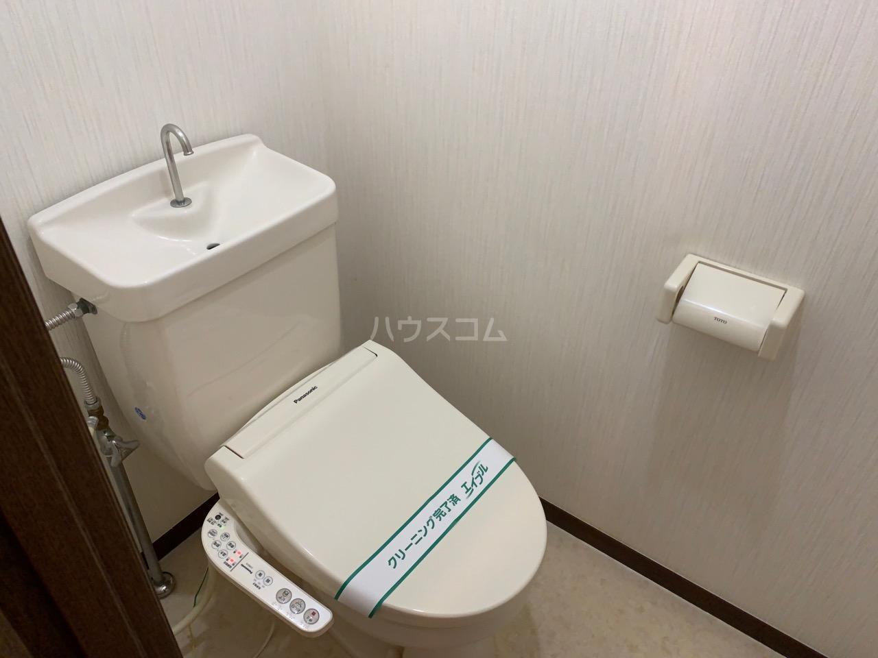 サニーコート伊藤 2-E号室のトイレ