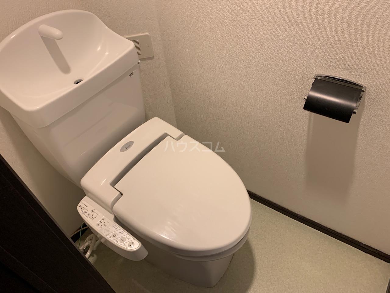 櫻 107号室のトイレ