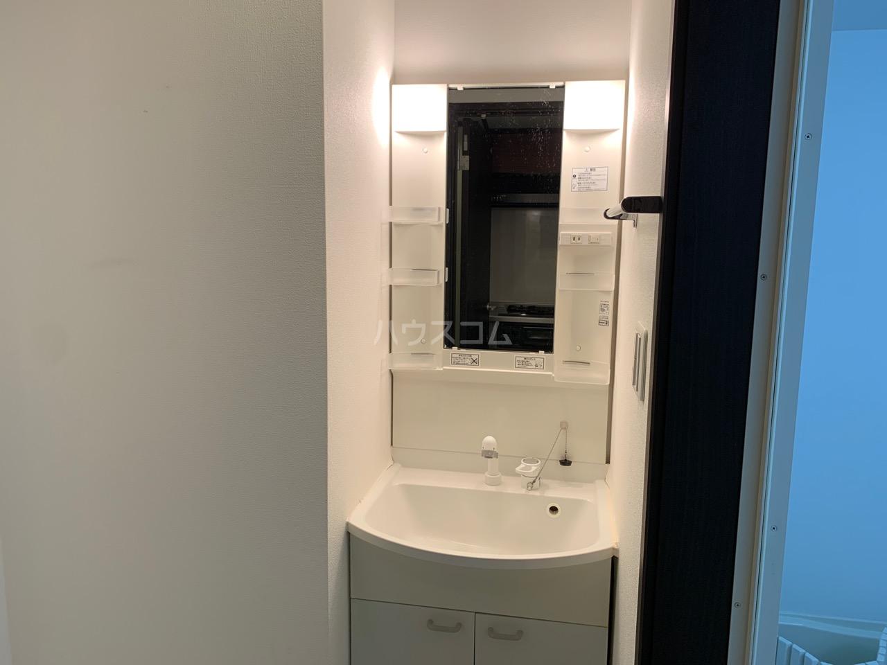 櫻 107号室の洗面所