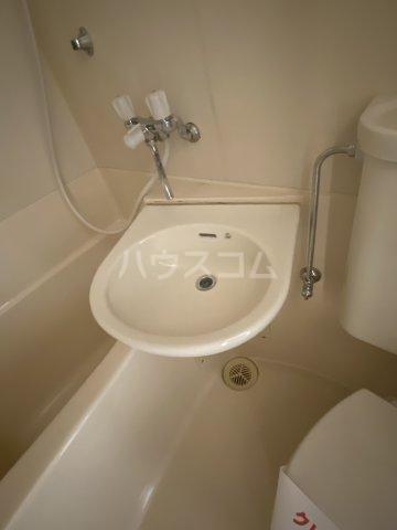 金子ハイツ 201号室の洗面所