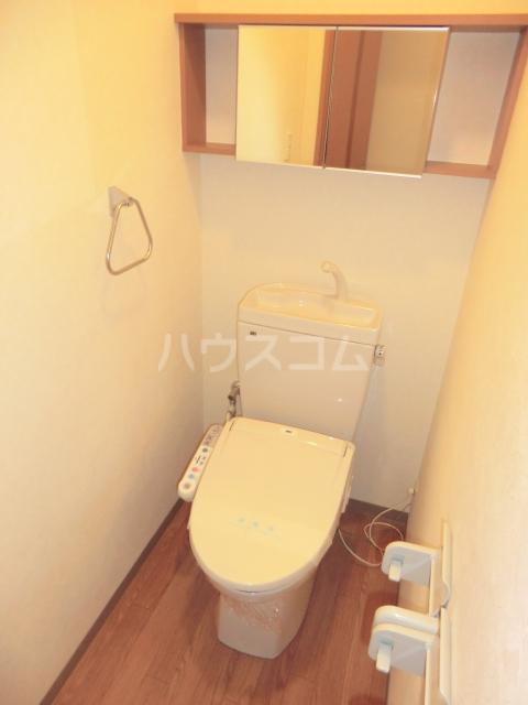 プルミエ 105号室のトイレ