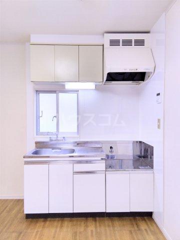 フェリース中央林間B 202号室のキッチン