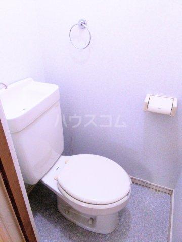 フェリース中央林間B 202号室のトイレ