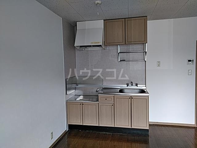 グリーンヴィレッジ 102号室のキッチン