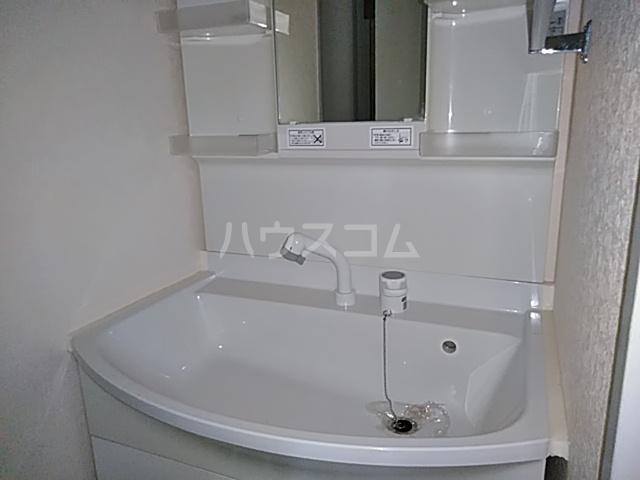 スカイコート 702号室の洗面所