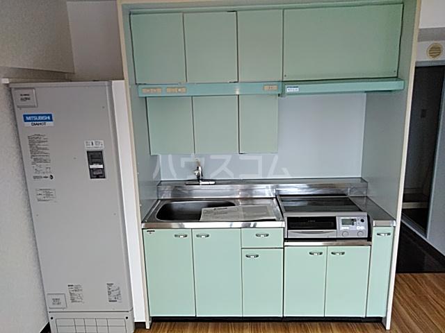 スカイコート 702号室のキッチン