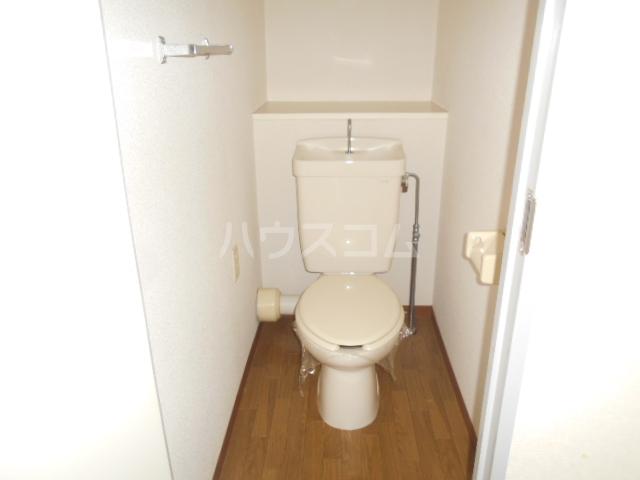 スカイコート 702号室のトイレ
