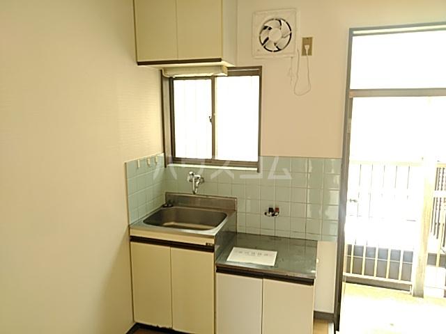 コーポウイングB棟 202号室のキッチン