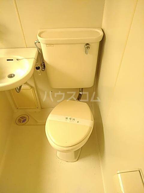 コーポウイングB棟 202号室のトイレ