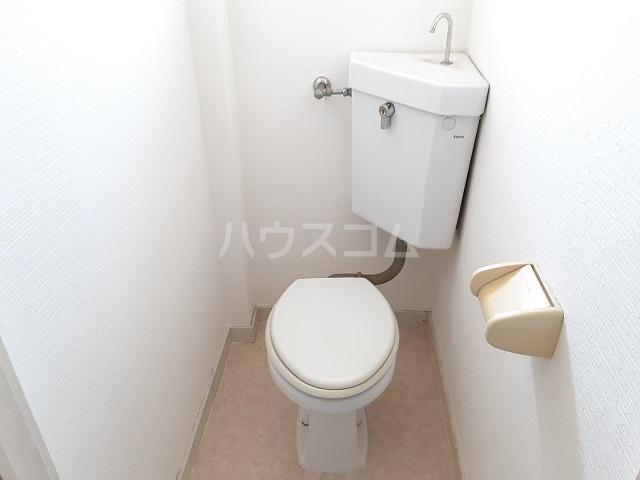 桜ヶ丘コーポ 203号室のトイレ