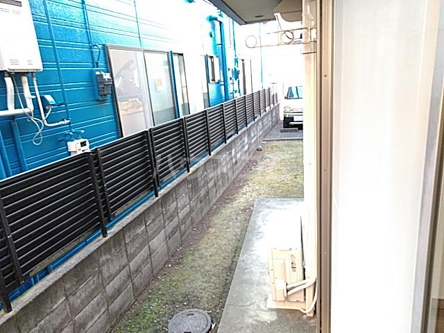カトルヤマジュ 102号室のバルコニー