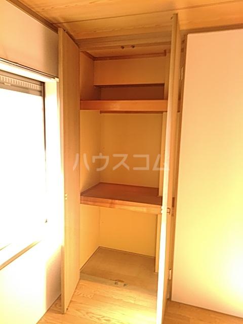 カトルヤマジュ 102号室の収納