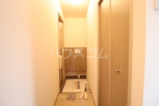 セジュールMTⅡ 202号室の玄関