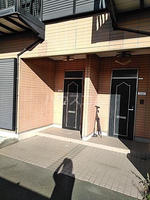 ベルハイムの玄関