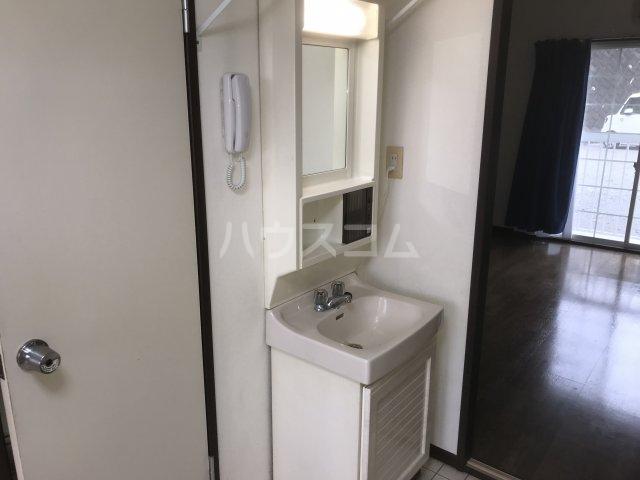 エクボ荘 102号室の洗面所