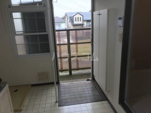 エクボ荘 102号室の玄関