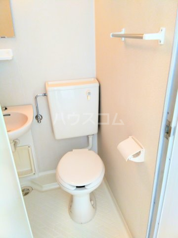 ララ鶴間No.3 202号室のトイレ