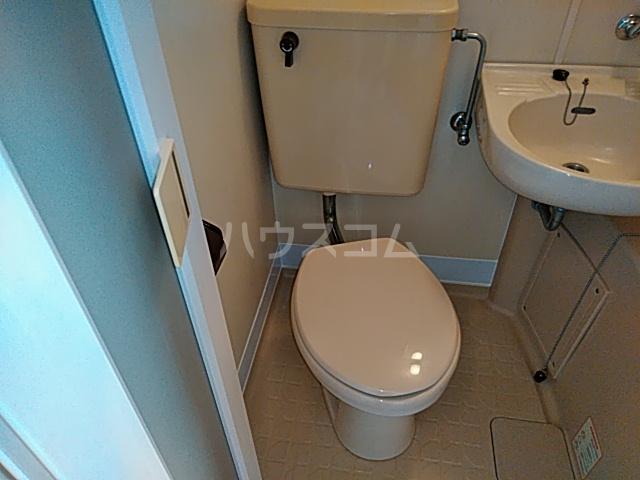 誠心ビル 405号室のトイレ