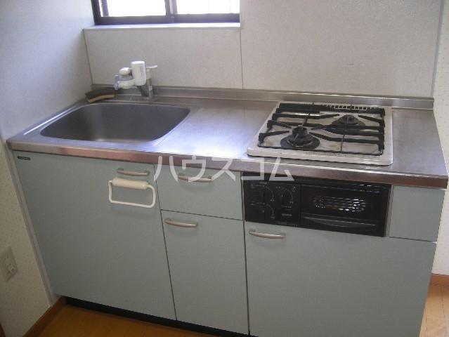 キャッスル下矢切 102号室のキッチン