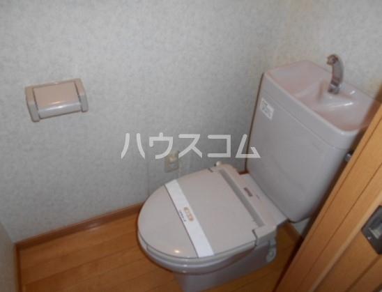 キャッスル下矢切 102号室のトイレ