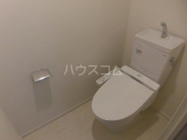 パークシティ柏の葉キャンパスザ・ゲートタワーウエスト 1217号室のトイレ