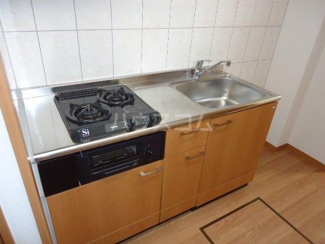 コンフォース・S 302号室のキッチン