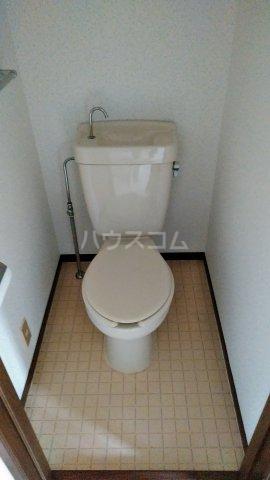 政海ハイツ 102号室のトイレ