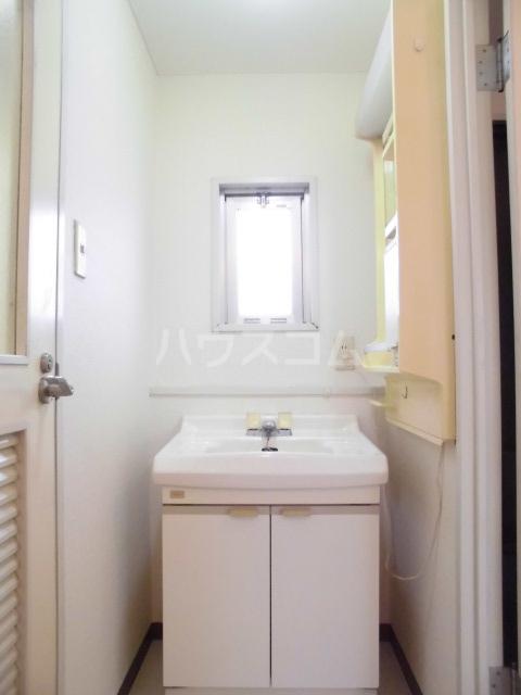 第五大場ビル 202号室の洗面所