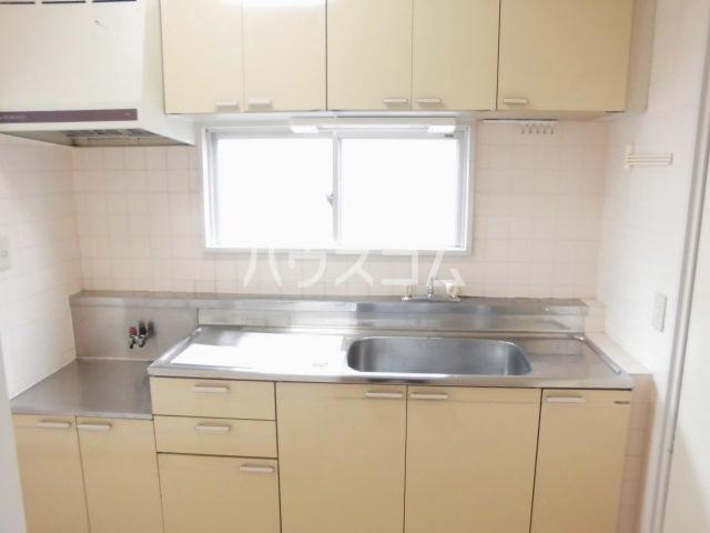 第五大場ビル 202号室のキッチン