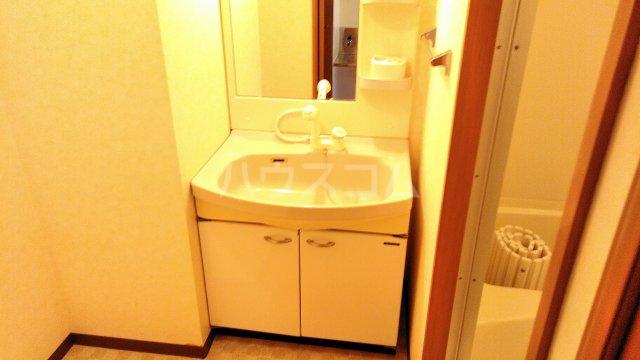 クラスト五番館 107号室の洗面所