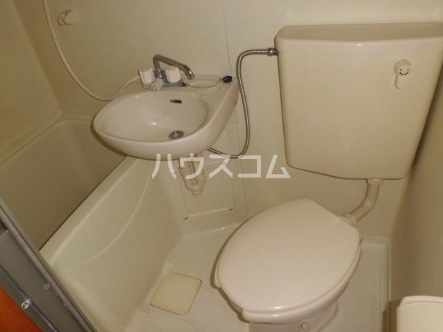 トライアングル 201号室の風呂