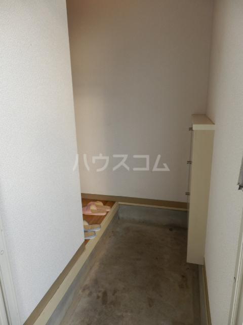 テラス宇佐見の玄関