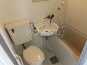 ビューハイツ湘南 401号室の洗面所