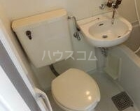 ビューハイツ湘南 401号室のトイレ