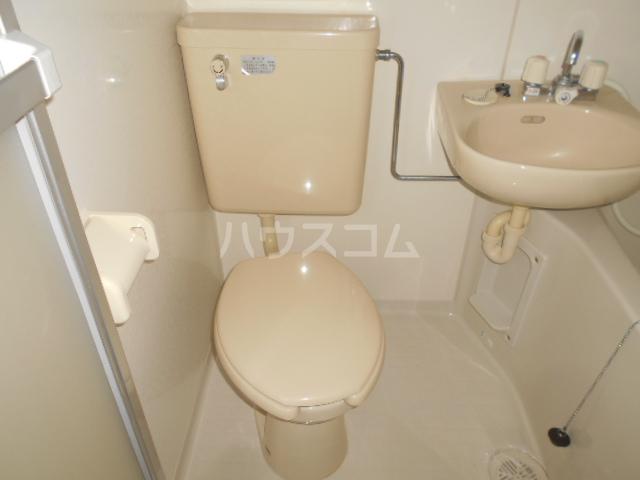 アーバン21 103号室のトイレ