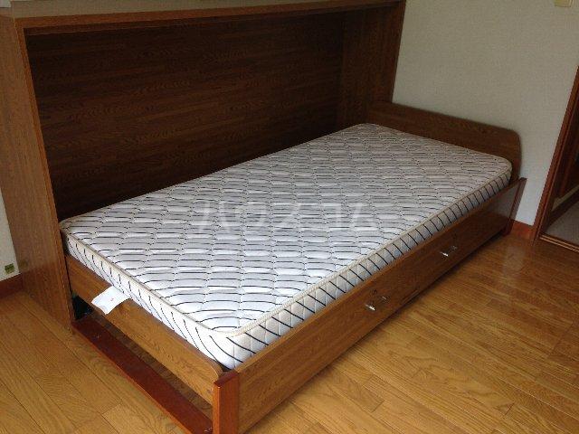グリーンヒルズ 202号室のベッドルーム