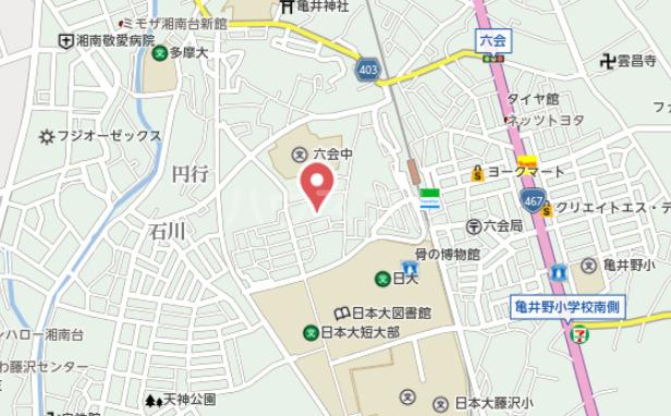 新富士見荘 105号室の地図