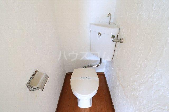 花沢第一コーポ 203号室のトイレ