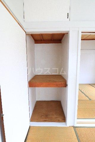 花沢第一コーポ 203号室の収納