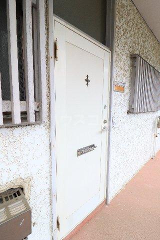 花沢第一コーポ 203号室の玄関