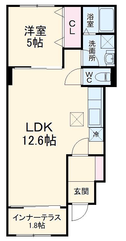 エクセレントY・K・Ⅱ 101号室の間取り